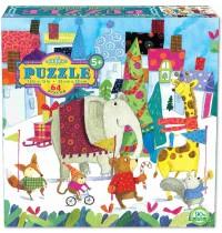 eeBoo - Puzzle, Parade 64 Teile