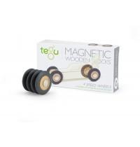 Tegu - Magnetische Rennreifen, 4-teilig