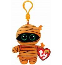 Ty Plüsch - Beanie Boos Glubschis Clip - Mask, Mumie orange 8.5cm