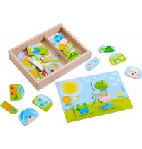 HABA® - Holzpuzzle Lustiger Tiermix