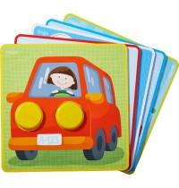 HABA® - Zuordnungsspiel - Kunterbunte Fahrzeug-Welt