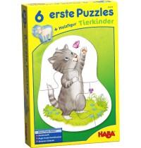 HABA® - 6 erste Puzzles - Tierkinder
