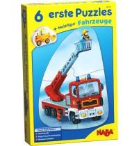 HABA® - 6 erste Puzzles - Fahrzeuge