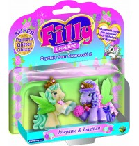 Dracco - Filly Wedding Glitter Couple Blister