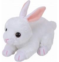 Ty Plüsch - Beanie Babies - Cotton, Hase weiss, 15cm