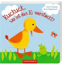 Coppenrath Verlag - Kuckuck, wo ist das Ei versteckt?