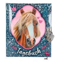 Depesche - Horses Dreams Tagebuch, blau