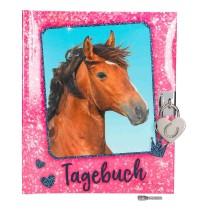 Depesche - Horses Dreams Tagebuch, pink