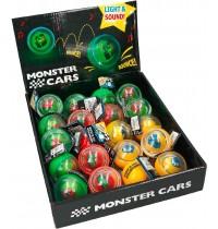 Depesche - Monster Cars Springball mit Sound und Licht