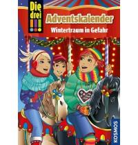 KOSMOS - Die drei !!! - Adventskalender, Wintertraum in Gefahr