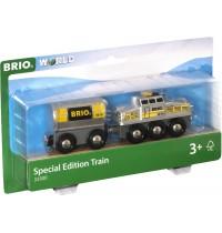 BRIO Bahn - Silberner Frachtzug 2018