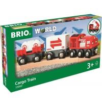 BRIO Bahn - Güterzug mit Frachtladung