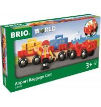 BRIO Bahn - Flughafen-Gepäckwagen