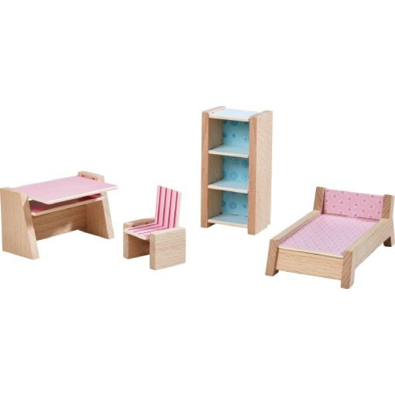 HABA® - Little Friends - Puppenhaus-Möbel Jugendzimmer_HABA ...