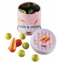 HABA® - Kaufladen Dose mit Erbsen und Möhren