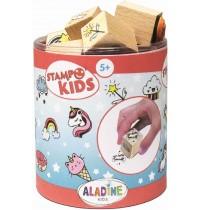 Aladine - Stampo Kids Einhörner