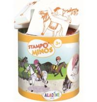 Aladine - Stampo Minos Pferde