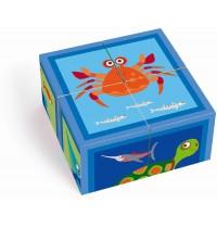 Scratch - Würfelpuzzle Meer 4 Würfel