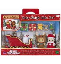 Sylvanian Families - Weihnachtsschlitten Set