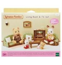 Sylvanian Families - Wohnzimmer- und TV-Set