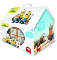 Multiprint - Minions 7er Stempelset Haus
