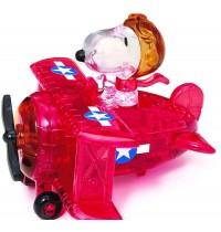 HCM Kinzel - Crystal Puzzle - Snoopy im Flugzeug