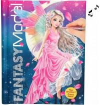 Depesche - Fantasy Model Malbuch mit LED und Sound