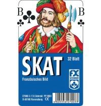 Ravensburger Spiel - Skat - Französisches Bild - Plastiketui