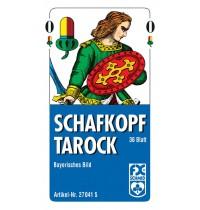 Ravensburger Spiel - Schafkopf - Tarockbayerisches Bild - Faltschachtel