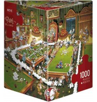 Heye - Dreieckspuzzle 1000 Teile - Ryba Billiard
