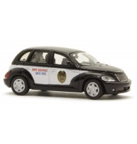 Busch Automodell - Chrysler PT Cruiser School Resource Office Car