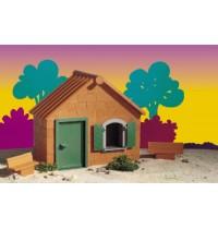Teifoc Ziegelhaus - Startset Bausatz mit echten Ziegelsteinen