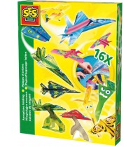 SES Creative - Papierflugzeuge falten