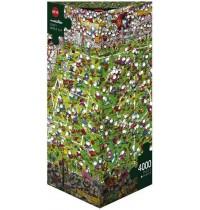 Heye - Dreieckspuzzle 4000 Teile - Mordillo Crazy World Cup