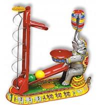 Wilesco Blechspielzeug - Elefanten - Ballspiel