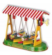 Wilesco Blechspielzeug - Schaukel mit vier Gondeln