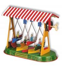 Wilesco Blechspielzeug - Schaukel mit vier Schiffchen