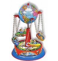 Wilesco Blechspielzeug - Globus-Ketten-Karussell