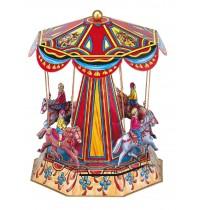 Wilesco Blechspielzeug - Nostalgisches Pferde-Karussell