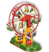Wilesco Blechspielzeug - Riesenrad mit sechs Gondeln