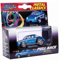 Darda - Fahrzeuge - Die Cast Porsche Targa, metallic blau
