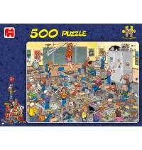 Jumbo Spiele - 500 Teile Puzzle - Jan van Haasteren, Fang die Maus