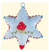 Die Spiegelburg - BabyGlück: Spieluhr Sternchen, hellblau