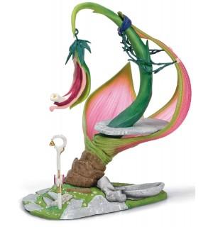 Schleich - World of Fantasy - Bayala -  Elfen Behausung (Sonnenblüte)