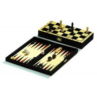 Philos - Reise-Schach-Backgammon-Dame-Set