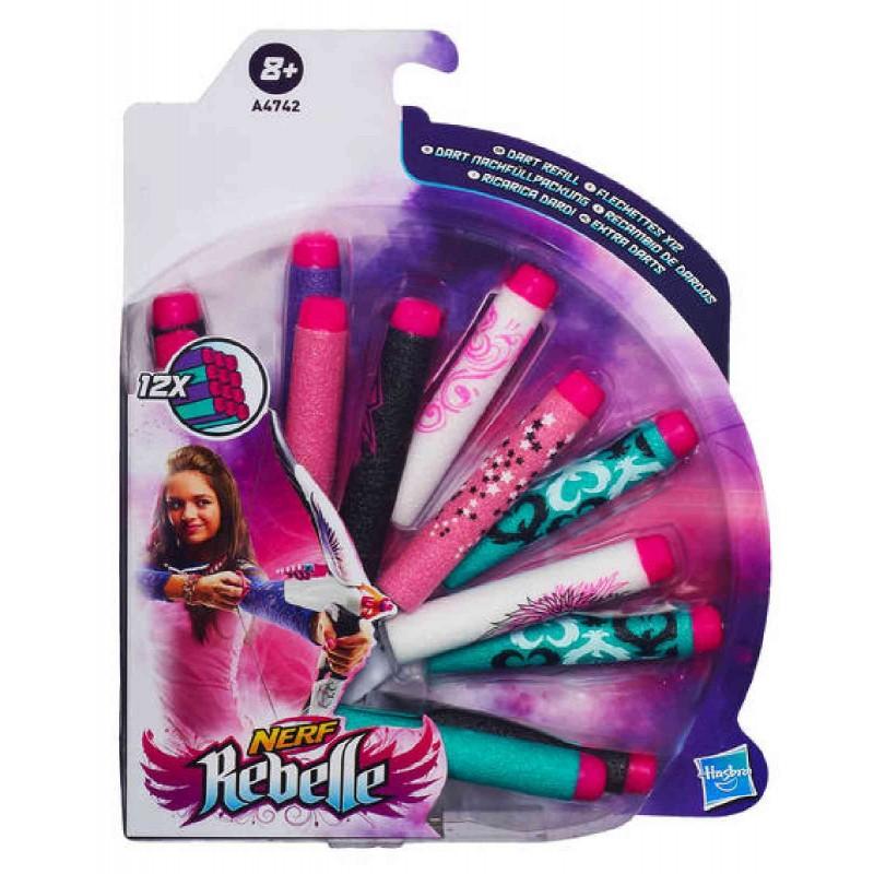 Hasbro - Nerf Rebelle 12er Darts