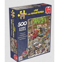 Jumbo Spiele - Jan van Haarsteren - Verkehrschaos, 500 Teile