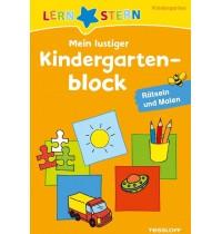Tessloff - Lernstern - Mein lustiger Kindergartenblock - Rätseln und Malen