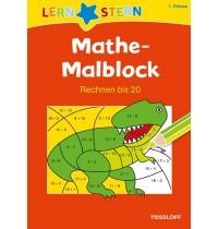 Tessloff - Lernstern - Mathe-Malblock. 1. Klasse. Rechnen bis 20