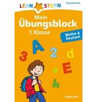 Tessloff - Lernstern - Mein Übungsblock 1.Klasse Mathe & Deutsch